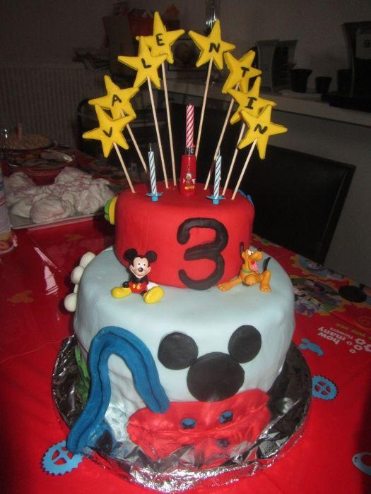 Gateau rigolo pour anniversaire 3 ans