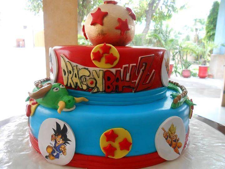 Dragon ball z   tortas decoradas   Pinterest