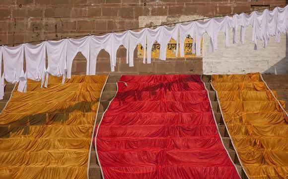 Colors of Prahlad Ghat