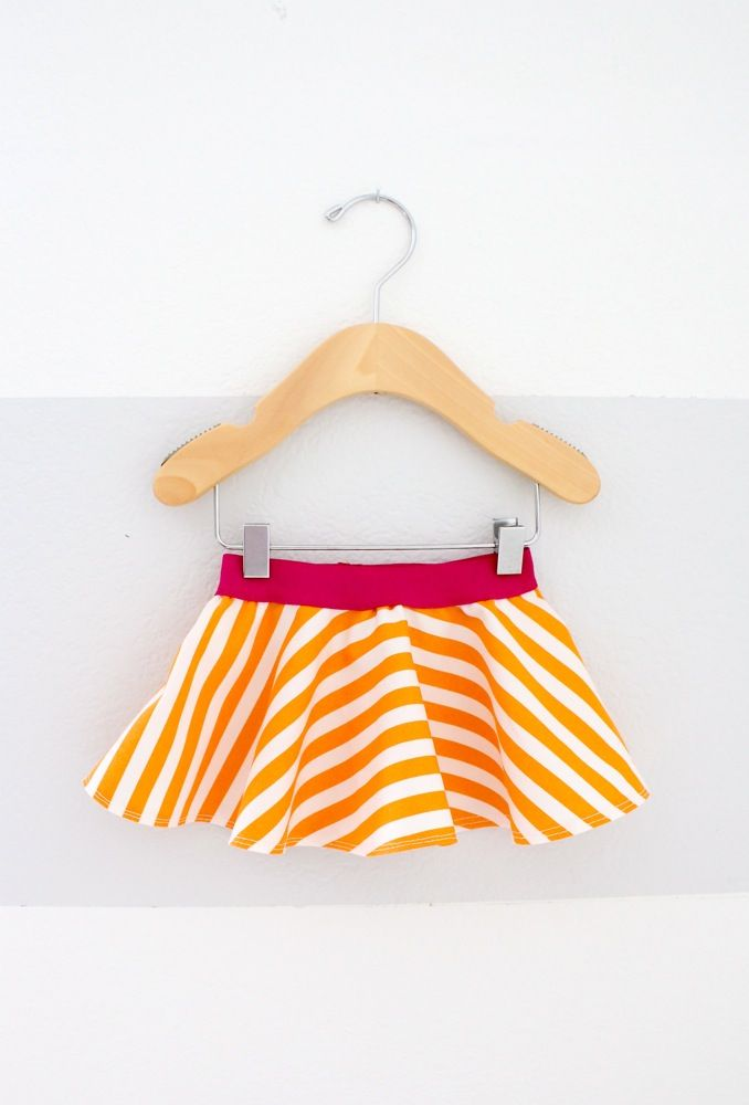 Celebrate BABY—TUTORIAL and PATTERN: little baby circle skirt   MADE