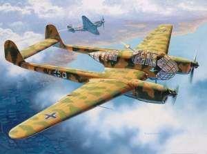 FockeWulf Fw 189 A-1.jpgCaracterísticas Generales  Longitud12 m  Altura3,10 m  Tripulación3  Peso vacío2850 Kg  Peso cargado3950 Kg  Armamento  Número ametralladoras4  Ametralladorasuna ametralladora MG 17 de 7,92 mm en cada raíz alar, MG 81 gemelas de 7,92 mm apuntadas manualmente en posición dorsal y como norma general otra MG 81 gemelas en el cono posterior.  BombasCuatro bombas de 50 Kg bajo las alas.