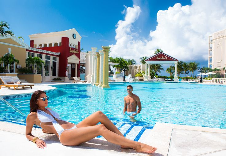 Slip Into Any One Of The Six Extraordinary Pools At Sandals Royal Bahamian