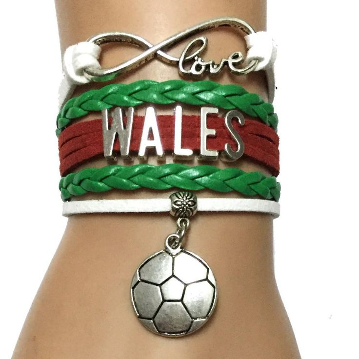 Do you love the Wales Football? Cutest Infinity Love Wales National football bracelet on the earth! Click to get yours today. Limited time sales event.