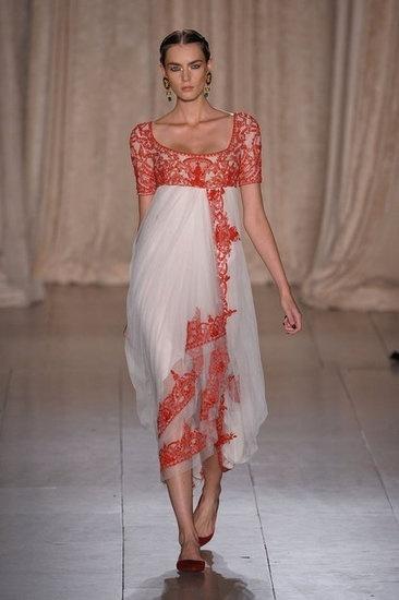 Marchesa is doing a lot of Indian-themed pieces this season