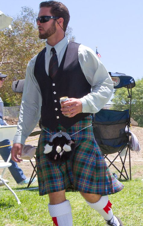 Love a man in a kilt