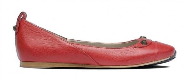 Balenciaga, ballerine rosse