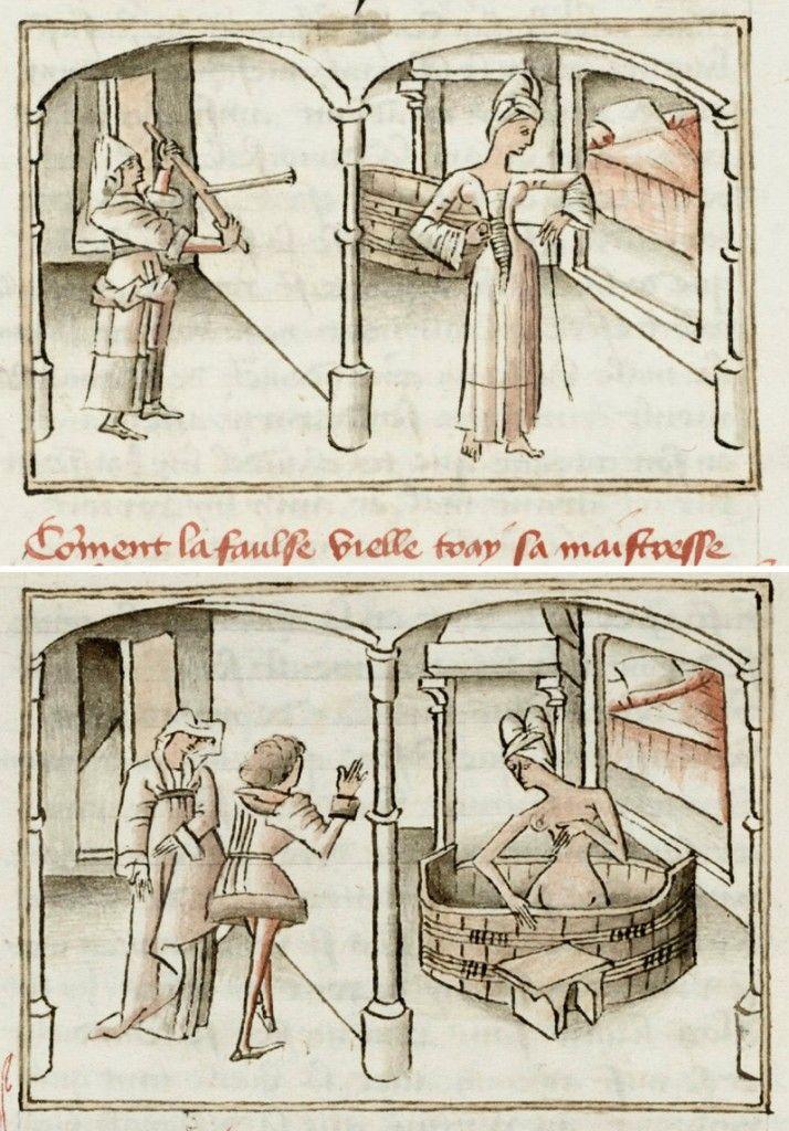 Roman de Gérard de Nevers (ms 9631), Bibliothèque royale de Belgique, Bruxelles