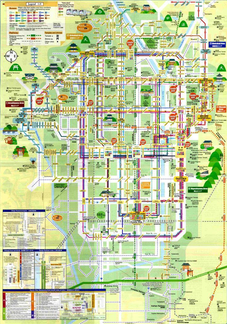 france japon plan metro bus map