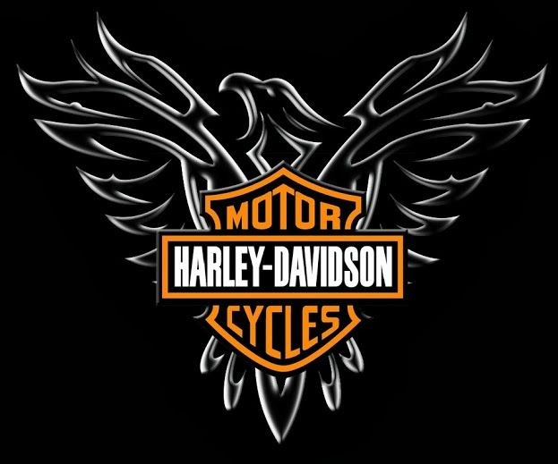 newest harley davidson logo wallpapers - photo #29