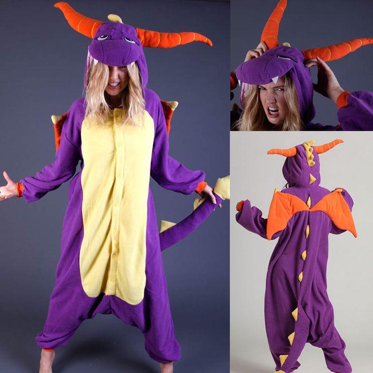 PajamasBuy - Onesies Costume Purple Royal Dragon Spyro The Dragon Kigurumi Pajamas, $40.25 (http://www.pajamasbuy.com/onesies-costume-purple-royal-dragon-spyro-the-dragon-kigurumi-pajamas/)