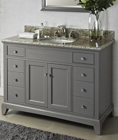 Bathroom Vanity Gray best 25+ country bathroom vanities ideas only on pinterest