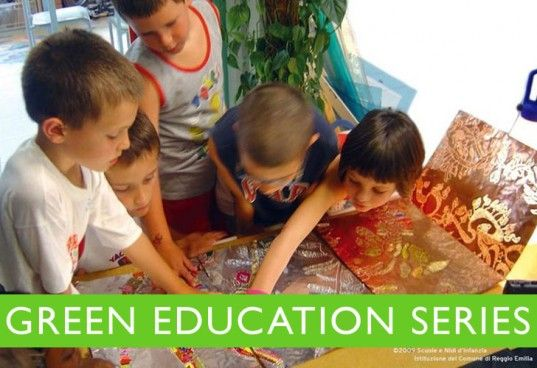 The Reggio Emilia approach to early childhood education has been building a slow