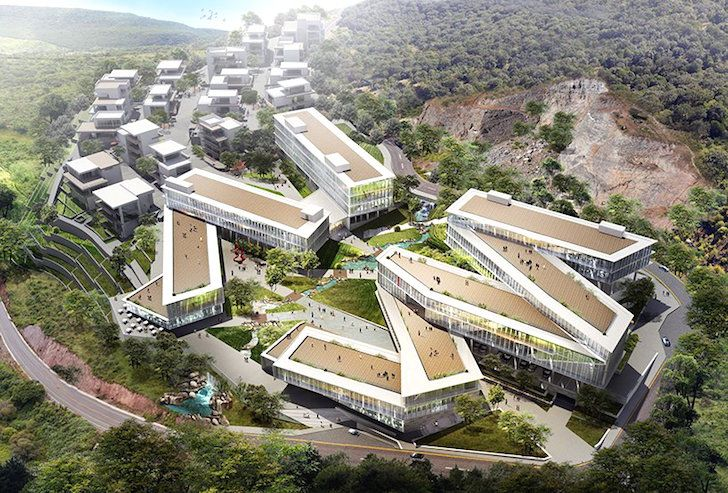 PWD Architecture to break ground on nature-infused mixed use development in Dali, China | Inhabitat - Sustainable Design Innovation, Eco Architecture, Green Building