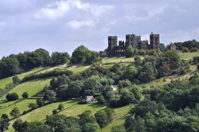 Riber Castle - from Heights of Abraham - Matlock, Derbyshire, England