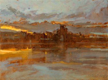 """Saatchi Online Artist Rodrigo Costa; Painting, """"The Limits of Light in The Immensity of Time"""" #art"""