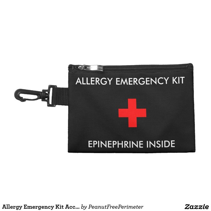 Allergy Emergency Kit Accessory Pouch Accessories Bags