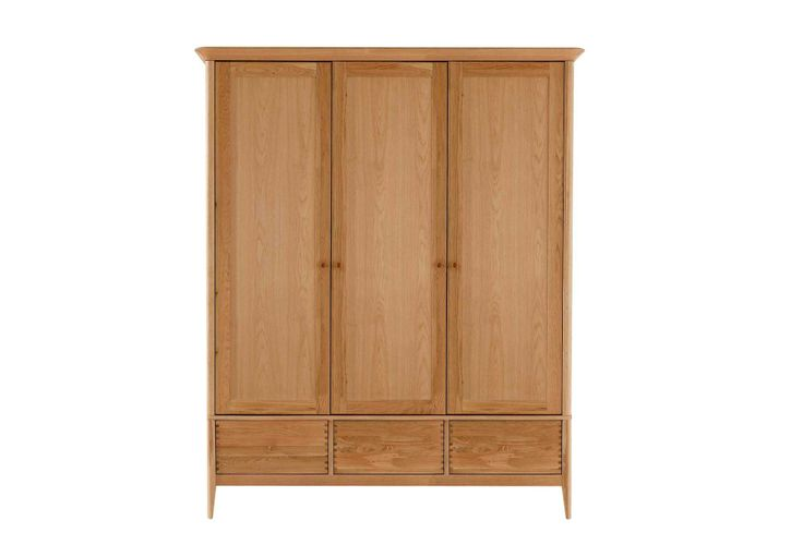 Or maybe just one of these?  Triple wardrobe - Spirit bedroom - Bedroom Furniture   Beds   Furniture Village
