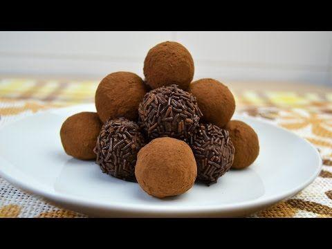 Trufas de Chocolate | Recetas dulces para Navidad - YouTube