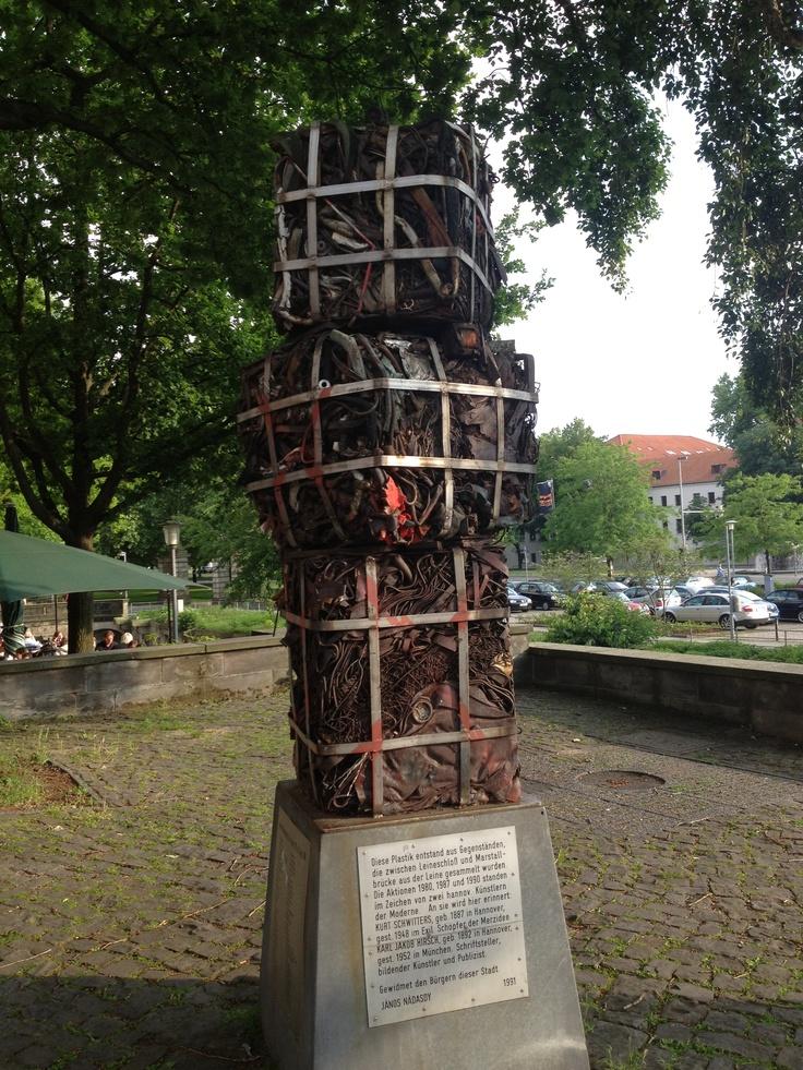 Plastik in Hannover