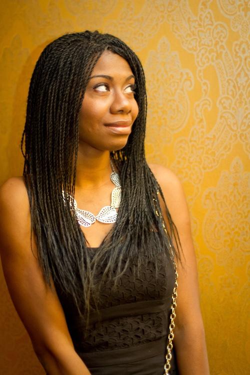 Micro Senegalese Twists Beautiful Natural Hair Braids