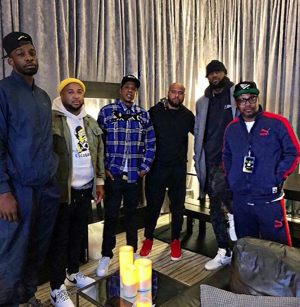 Jay Z – 'America Is Way More Sexist Than Racist' + LeBron, D. Wade & Big Sean Hit Up 4:44 Tour In Detroit + Pete Rock Ethers Waka Flocka
