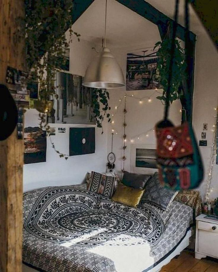 DIY Hipster Bedroom Decorations Ideas | Aesthetic bedroom ...