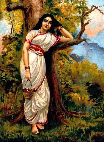 Ahalya 1896  A.K. Joshi & co.Bombay, Raja Ravi Varma