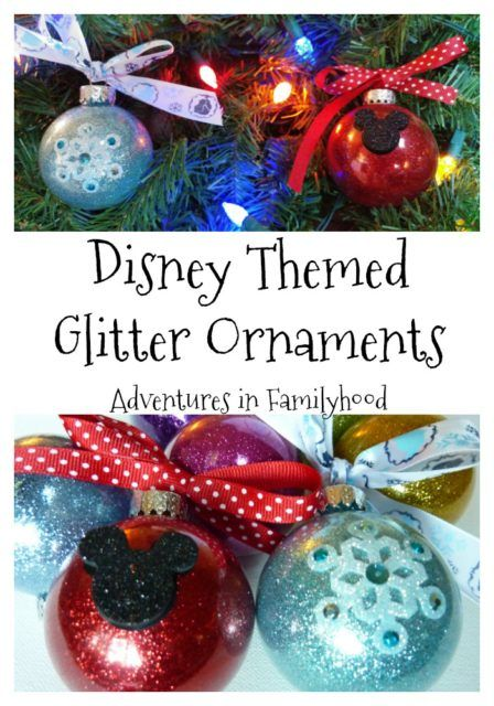 502 best disney crafts images on pinterest walt disney disney with only a handful of materials you can create shimmering and sparkling disney themed glitter ornaments that are inspired by your favorite characters solutioingenieria Image collections