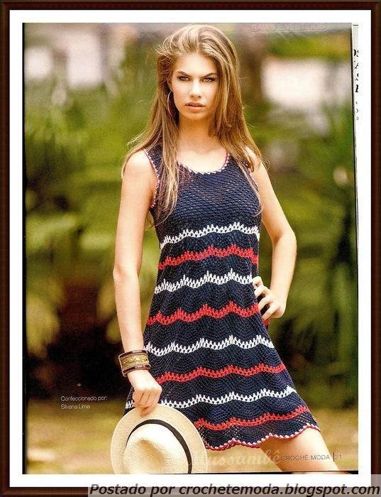 Para el verano: vestido de crochet espectacular. Debate sobre LiveInternet - Servicio rusos Diarios Online