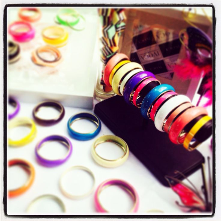 Colourful bangles for summer!