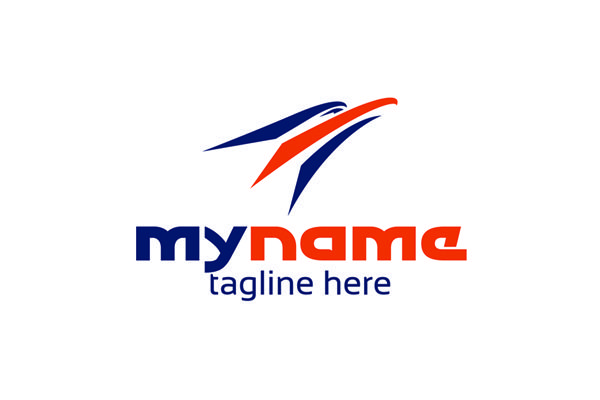 Logo for sale: Quick Eagle Media Logo