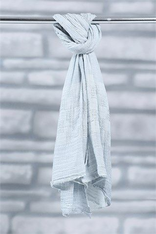 Tesettür Aksesuar Şal Modelleri En Ucuz Fiyatlara En Kaliteli Ürünler Moda Sevinç'de ModaSevinç, 29,9 TL, Polo Buruşuk Şal (Bebek Mavisi)