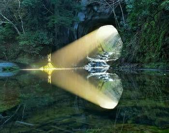 都心に近い秘境「濃溝の滝(のうみぞのたき)」@千葉県・清水渓流公園