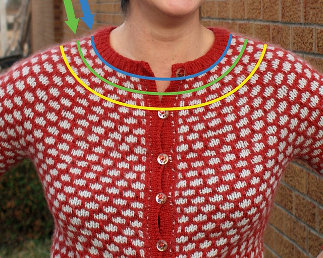 Knitting A Sweater Neckline : 107 best top down images on pinterest knitting patterns