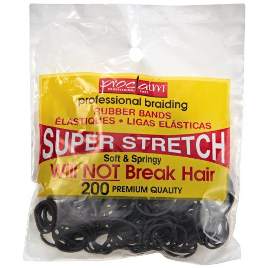 Amazon.com : Proclaim Assorted Brights Professional Braiding Rubber Bands : Hair Extensions : Beauty