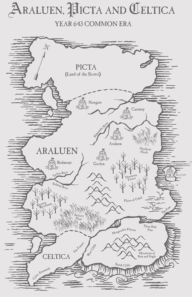 Araluen, Picta, and Celtica- The World of Ranger's