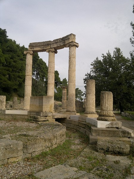 Ready to be inspired for my fall marathon while in  Olympia, Greece during our MSC Fantasia cruise.