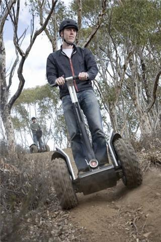 The Segway - Why aren't we ALL using these?  I'd love to have a spin on one off-road.  Then again, I paid to have a spin in a Sinclair C5 in the 80s.  On a busy public road in Leicester so I have poor judgement.