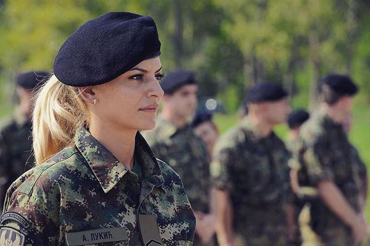 """Serbian female special forces operative from the ""Kobre"" Unit, Special Brigade. =============================== Follow my Balkan brothers:…"""