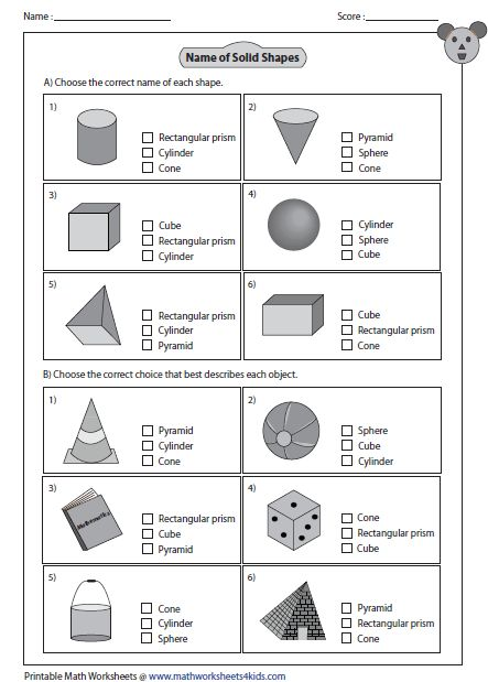 multiple choice questions math pk 1 shapes worksheets 3d shapes worksheets 2nd grade math. Black Bedroom Furniture Sets. Home Design Ideas