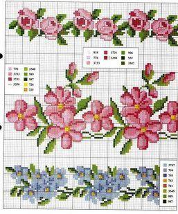 4370 best images about punto de cruz on pinterest punto - Muestras y motivos punto de cruz ...