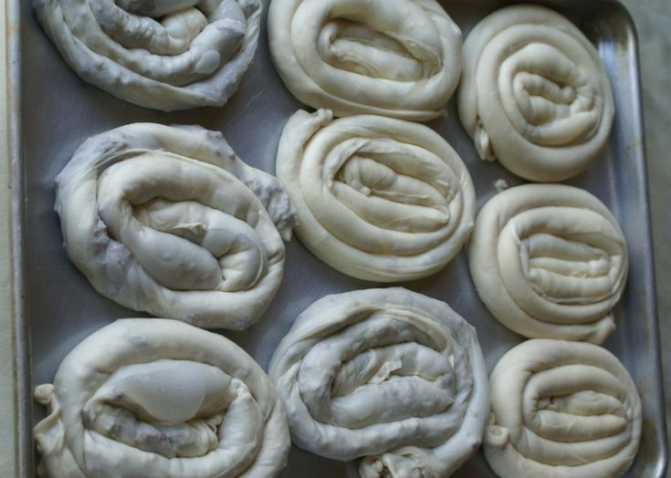 Burek/Pita ready for oven