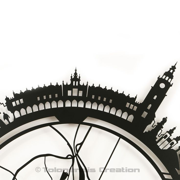 Little Planet Cracovia - This model presents the version of the city of Cracow. The standard version depicts the old town of Cracow and the Customized version is free for logo, motto, text or other graphic according to customer's requirements - Contact us for more information - Metal laser cut - Powder coating paint - Height 1 m - 39,50 inc. - Design Jacques Lahitte © Tolonensis Creation -  www.tolonensis.com