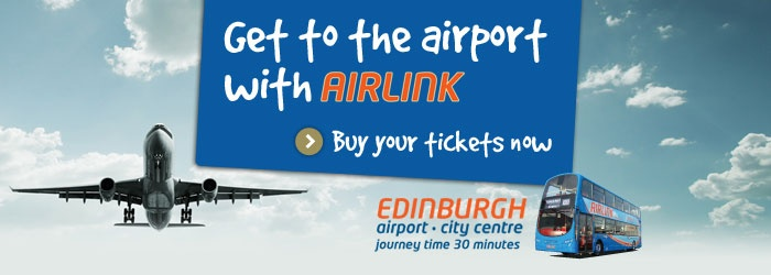how to get from edinburgh airport to waverley station