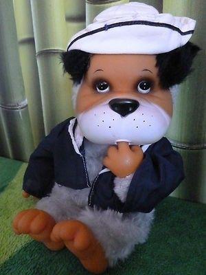 Vintage sailor dog,Pelocaldo Zabolakia, El Greco, sucks thumbs like Monchhichi (11/14/2012)
