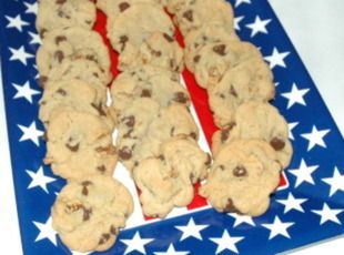 All-American Chocolate Chip Cookies -lots of recipes out there but this is just a nice basic recipe that is always good to have in your recipe box