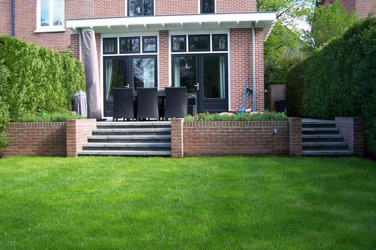25 beste idee n over grindterras op pinterest grind for Buitenste trap ontwerp