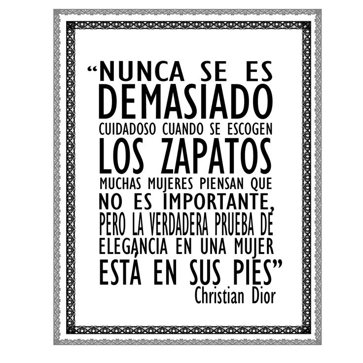frases sobre zapatos - Google Search