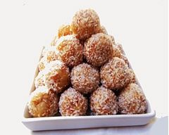 Coconut Balls Recipe - Snacks