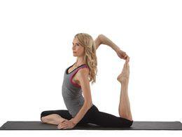 yoga@home video for runners--Kristin McGee